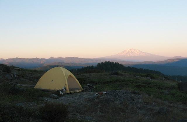 Tent Mount St Helens