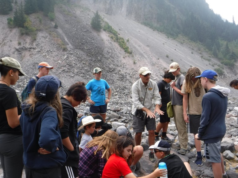 Nisqually Glacier visit