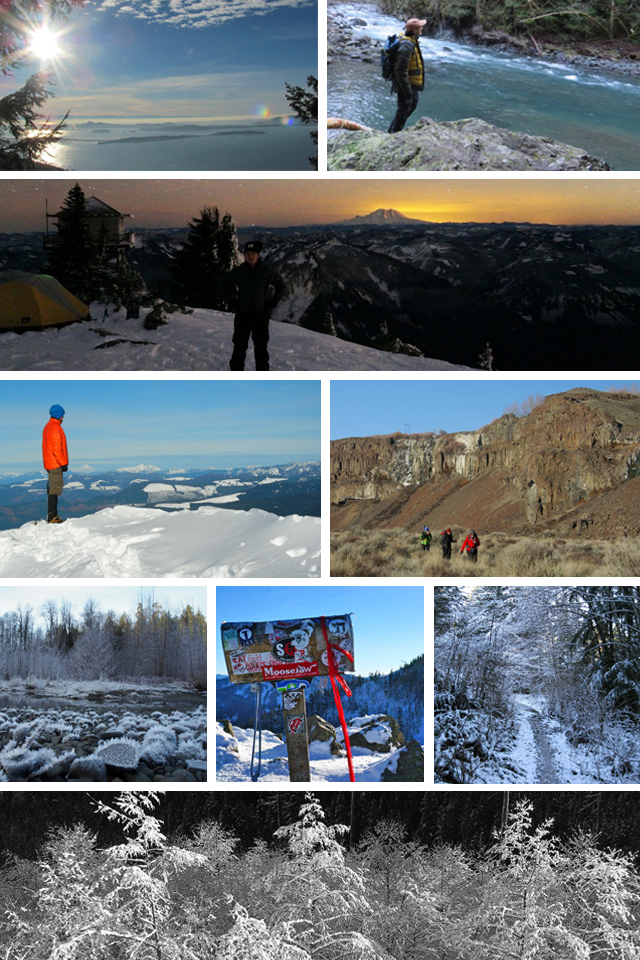 New Years Day trip report collage