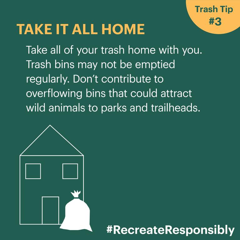 Trash Tip: Take it home