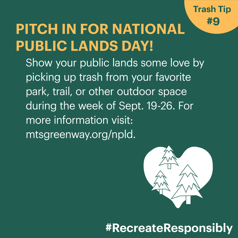 Pitch in for Public Lands