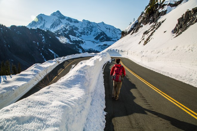 Road to Artist Point by nmdanielson