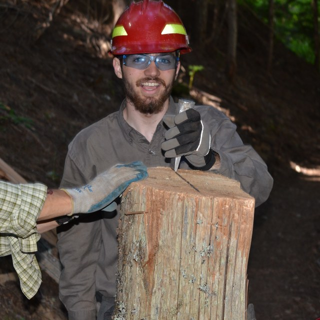 splitting logs on red bluff todd dunfield
