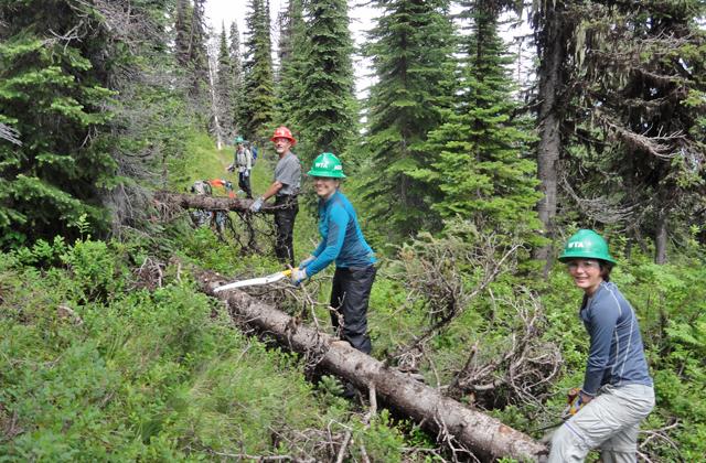 Crew at Thunder Mountain Randy Greyerbiehl