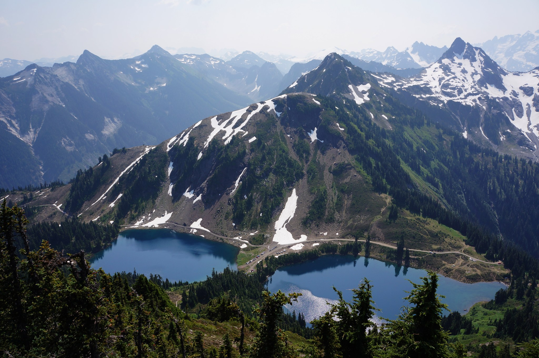Twin Lakes from Winchester Mountain. Photo by mbravenboer..jpg