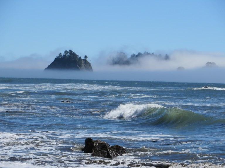 Waves Crashing Rialto Beach. Photo - Connie Henderson.jpg