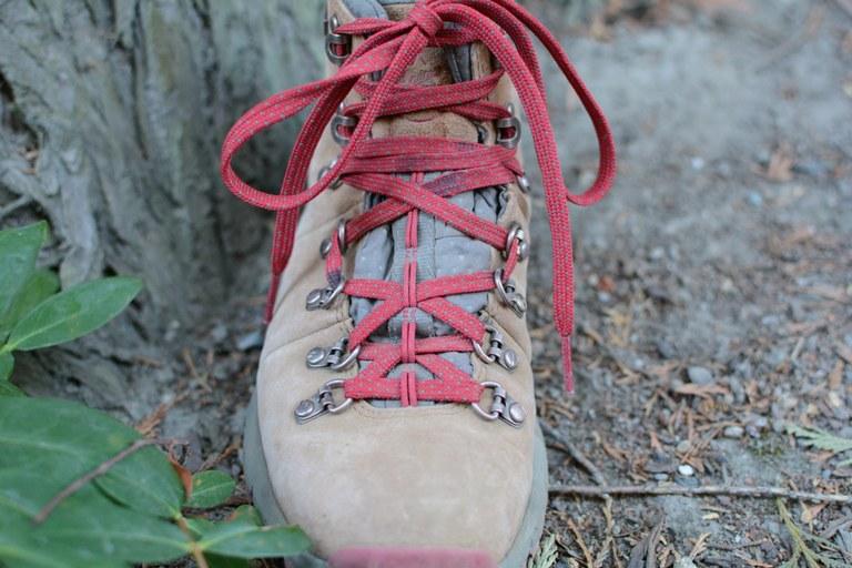 Boot lacing