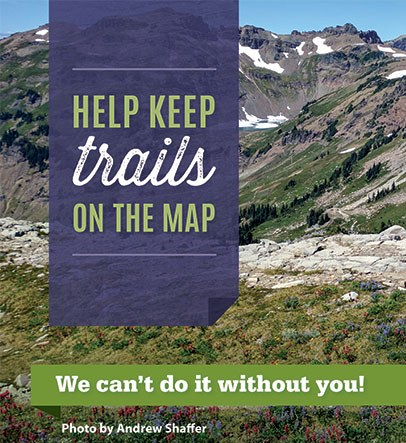 Help Keep Trails on the Map