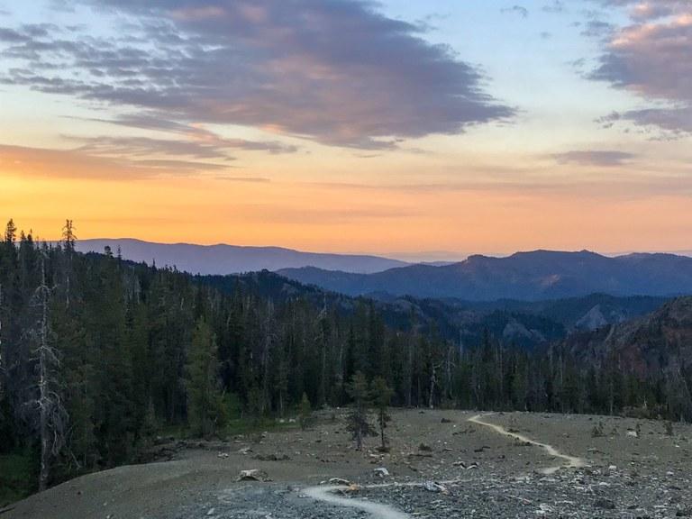 Stafford Creek Trail by Valerie Goto