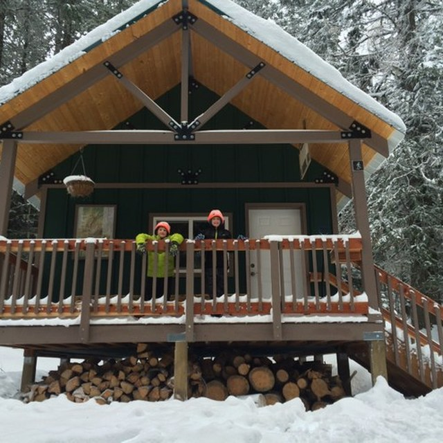 Snowshoe Hut in Mount Spokane State Park