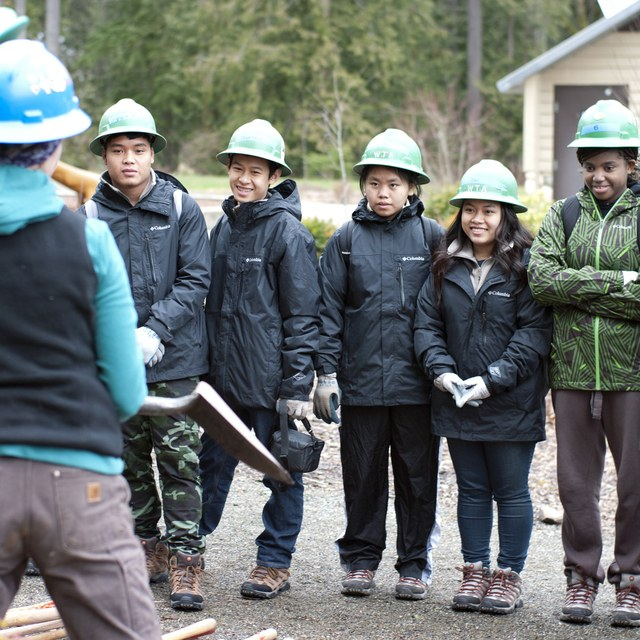 Youth Group at Cougar Mountain