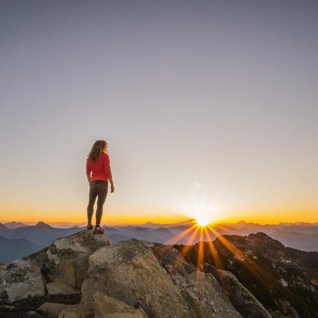 Solo hiking by Tiffany Stumpf