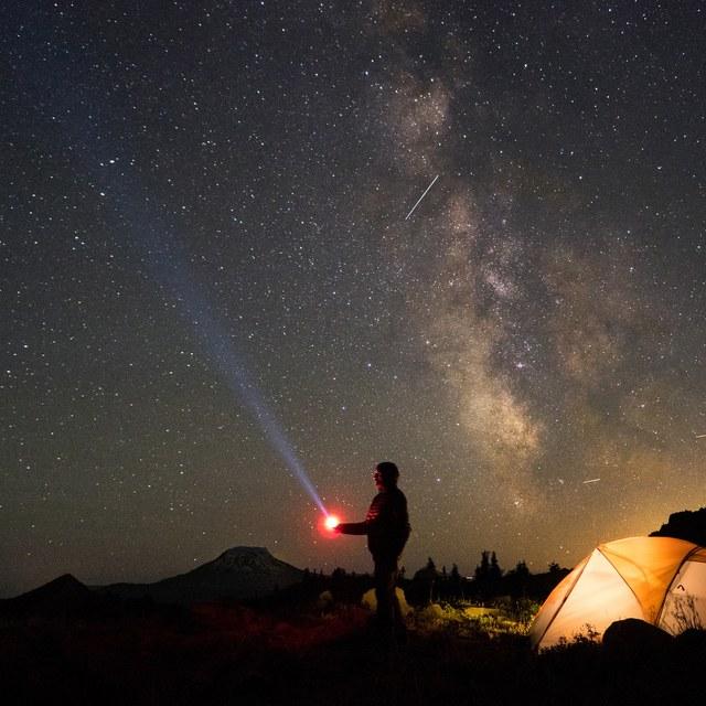 Stargazing in the Goat Rocks