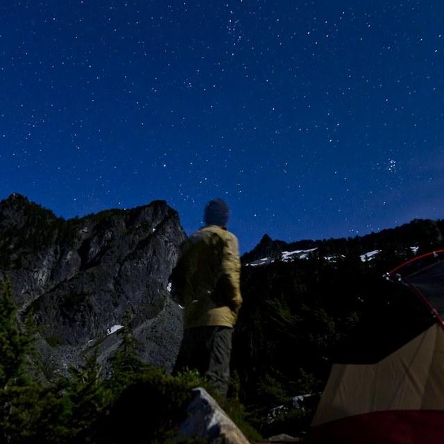 Stargazing Boulder Lake
