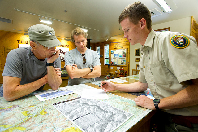 Wilderness Rangers and Visitors
