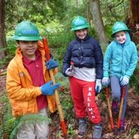 Youth Vols at Cougar Mountain