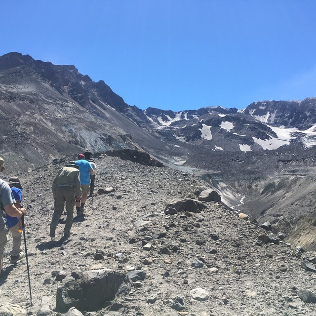 Guided Hike Mount St. Helens