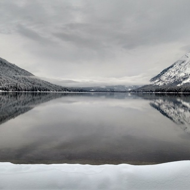 Lake Wenatchee winter