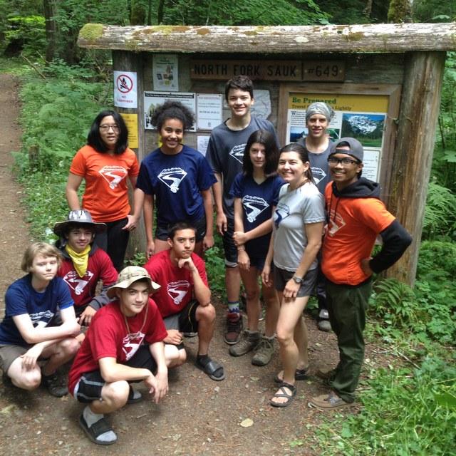 North Fork Sauk Youth Crew