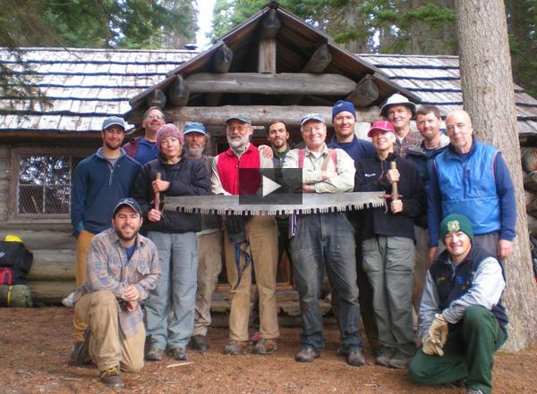Pasayten Wilderness volunteer crew. Photo by Gary Zink.