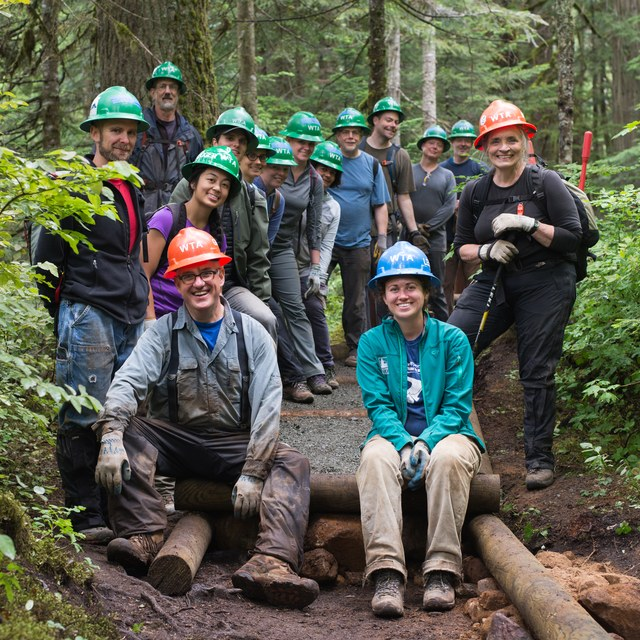 Franklin Falls Work Party 2015