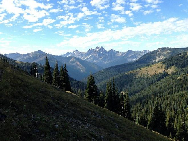 PCT views north of Hart's Pass