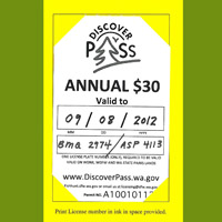 Discover Pass two licenses