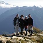 Green Mountain summit hikers