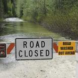 Icicle Road Closure