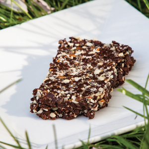 chocolate chia bars