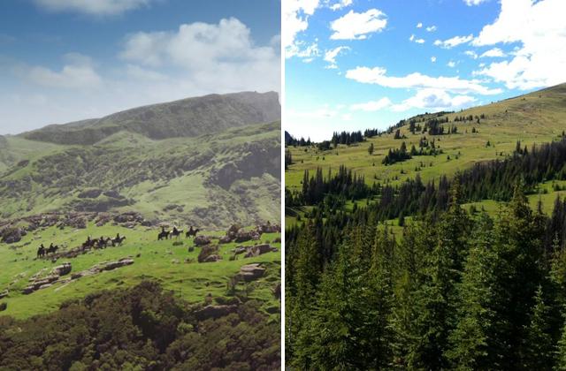 Hobbit and Horseshoe Basin