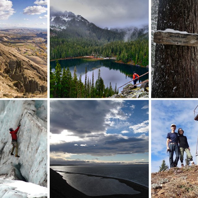 Six Very Different Trails One Weekend