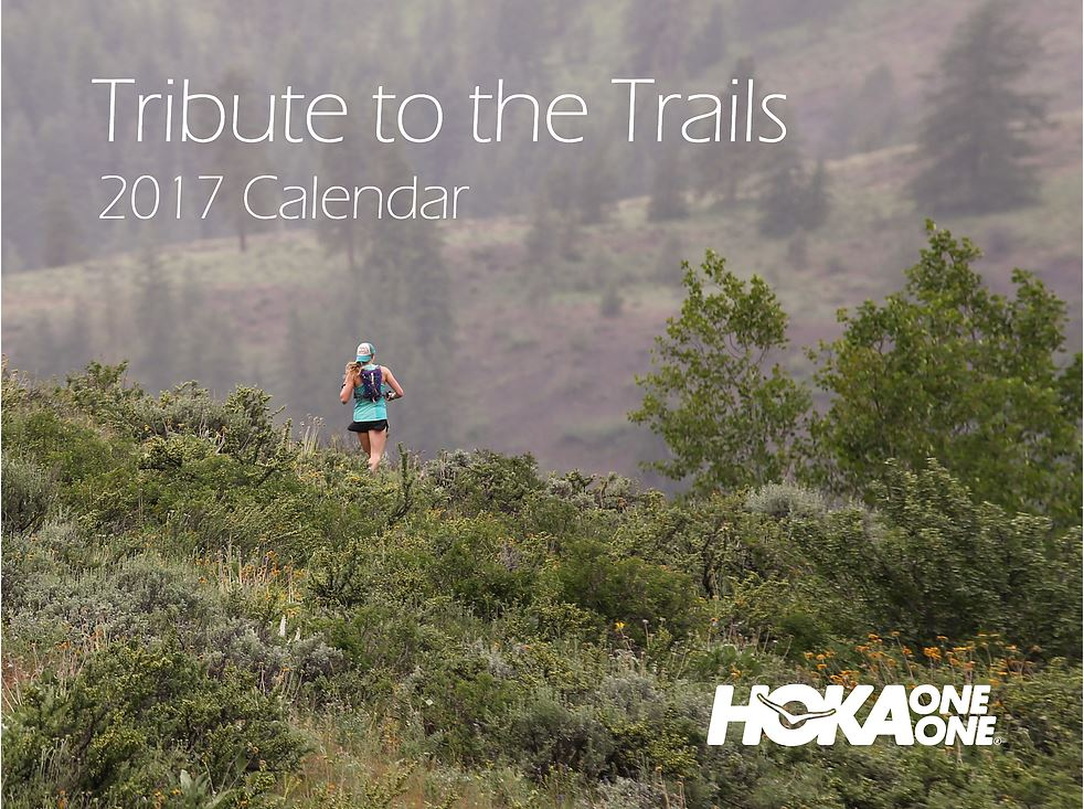 Tribute to the Trails calendar 2017.