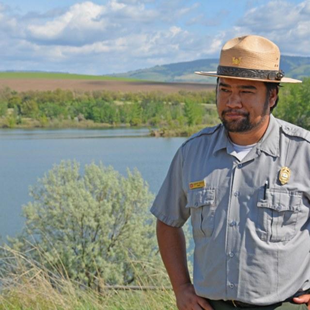 Jeremy Nguyen at Bennington Lake
