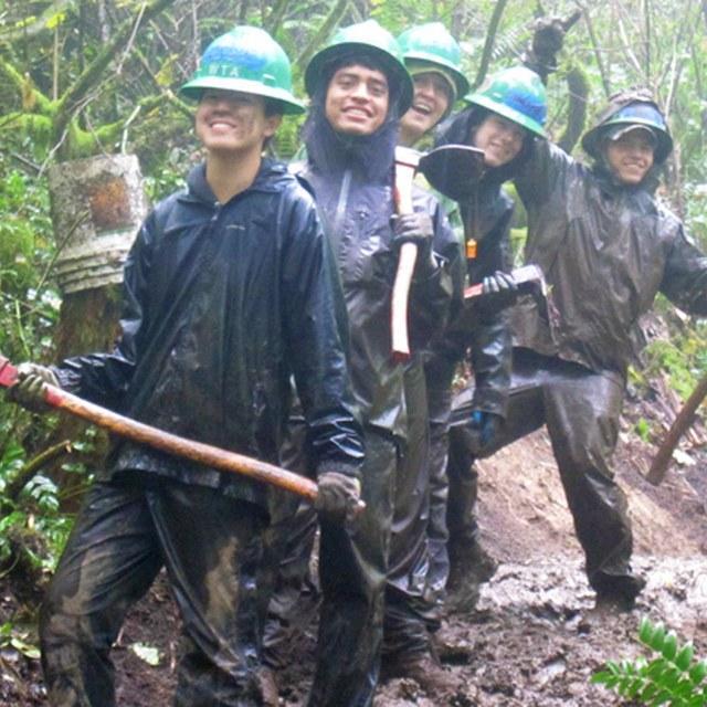 The BOLD teen crew Cougar Mountain
