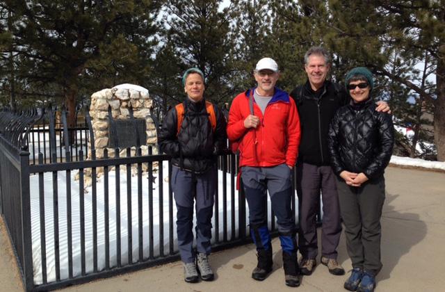 Doug and Maggie Walker with Karen