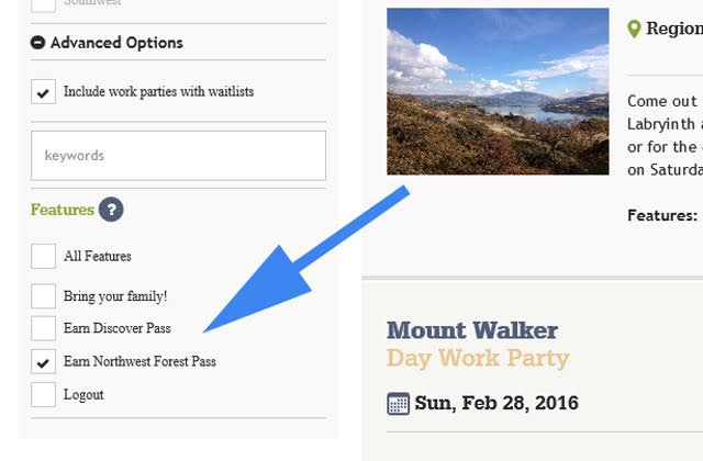 earn your NW Forest Pass