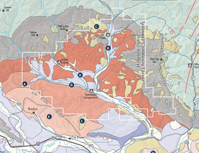 DNR Geologic Map Teanaway