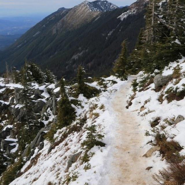 Icy trail Bandera