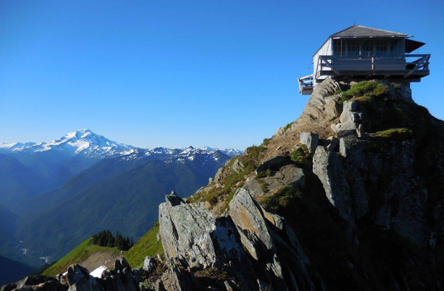 Green Mountain Lookout and Glacier Anna Roth