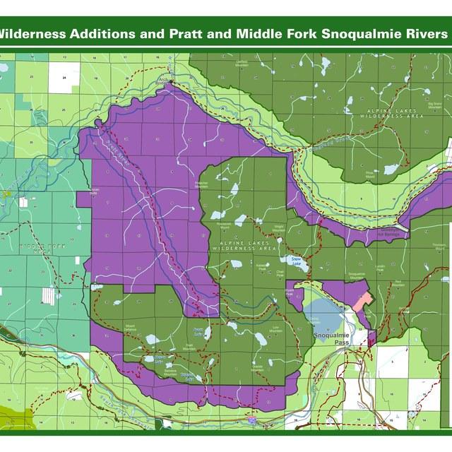 Alpine Lake Wilderness additions