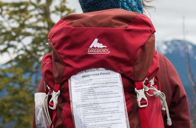 Mount Rainier Wilderness Permit