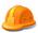 Orange Hard Hat tiny