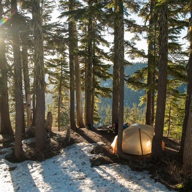 Campsite Rachel Lake