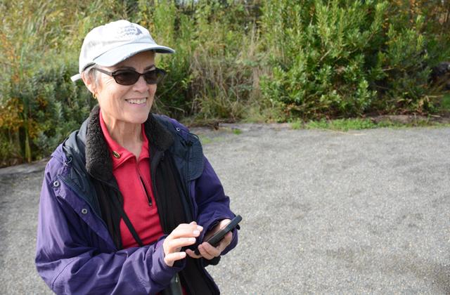 jan bragg recording a bird sighting anna roth