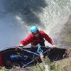 Rescuer Lowers Over Snoqualmie Falls