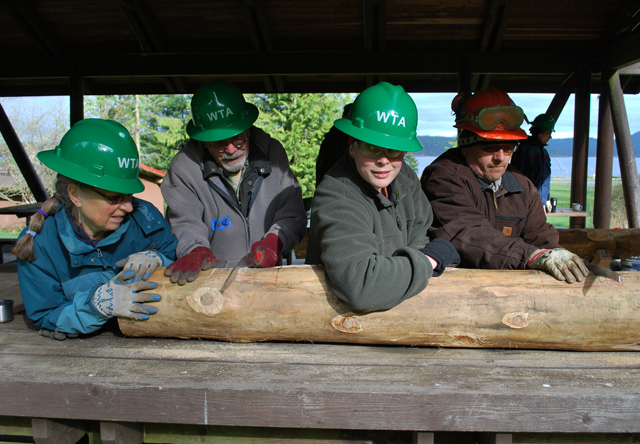 Lopez Island - Learning to make sills