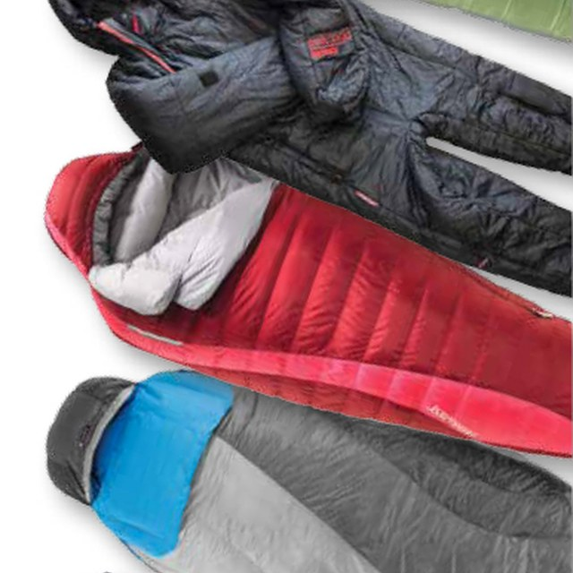 5 sleeping bag set