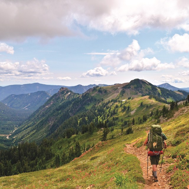 Solo hiking by Melissa Ferrell