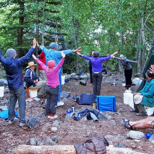 Stretching Volunteers by Kathy Bogaards
